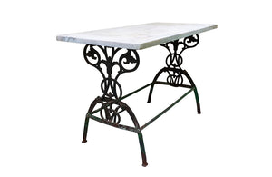 19TH CENTURY GARDEN TABLE