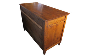 FRENCH PROVINCIAL CHERRY COMMODE