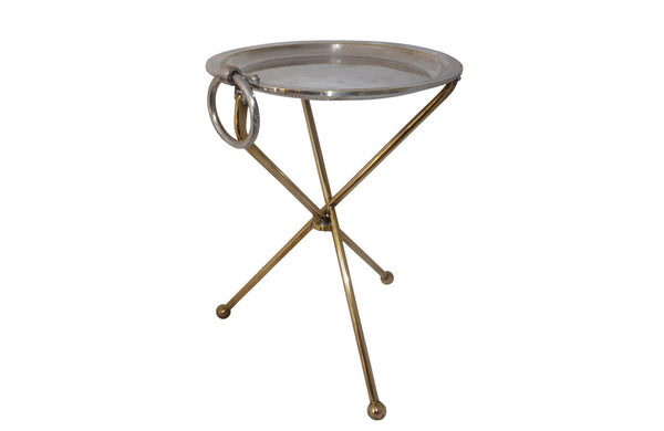 VINTAGE FOLDING MARTINI TABLE