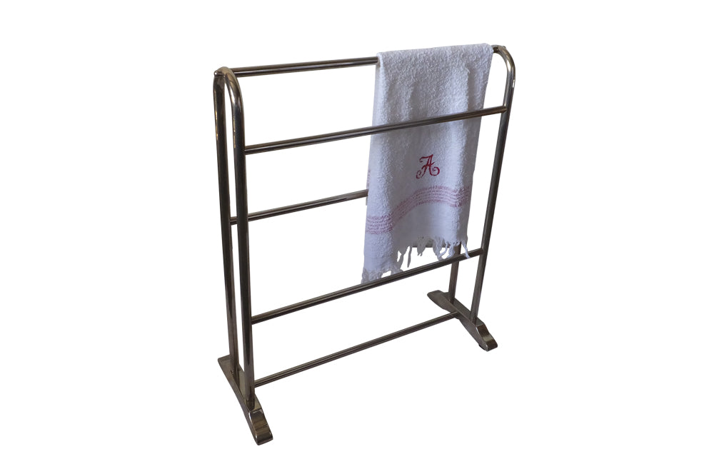 ENGLISH CHROME TOWEL RAIL