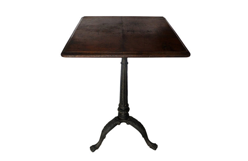 RARE ENGLISH CAFÉ TABLE