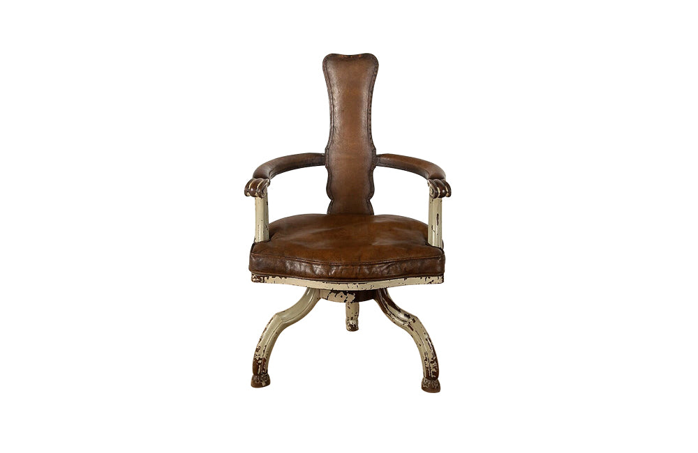 RARE SWIVEL DESK CHAIR