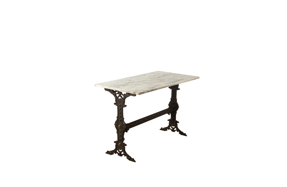 RARE FRENCH CAST IRON TABLE