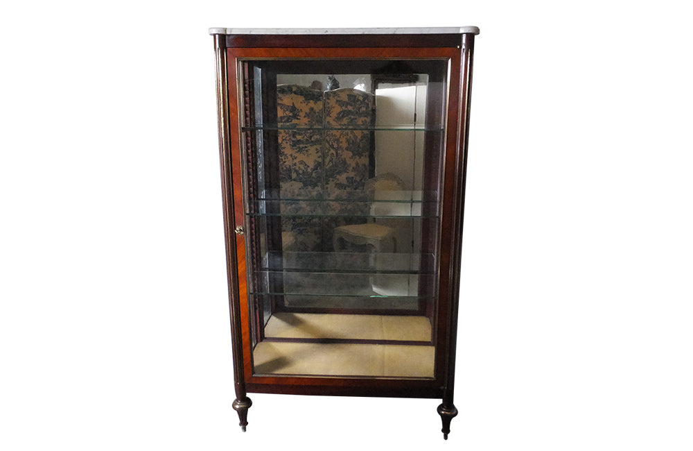 LOUIS XVI REVIVAL DISPLAY CABINET