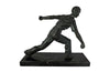 FRENCH BOULES PLAYER SCULPTURE