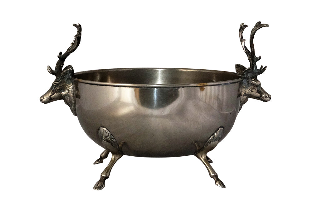VINTAGE SPANISH STAG BOWL