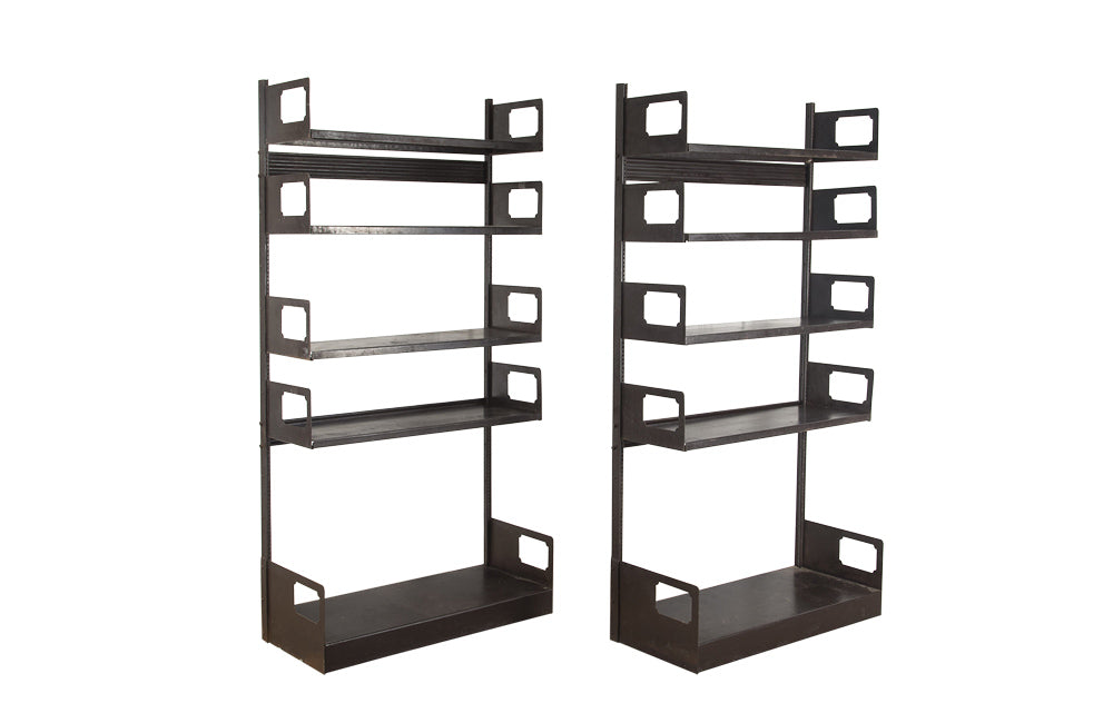 RARE PAIR OF STRAFOR SHELVES