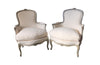 PAIR OF LOUIS XV REVIVAL BERGERES
