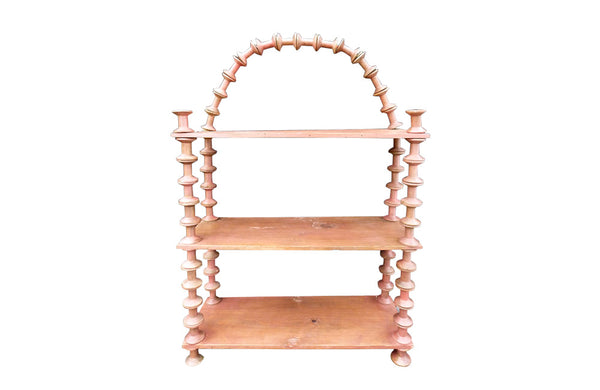 BOBBIN-WORK SHELVES