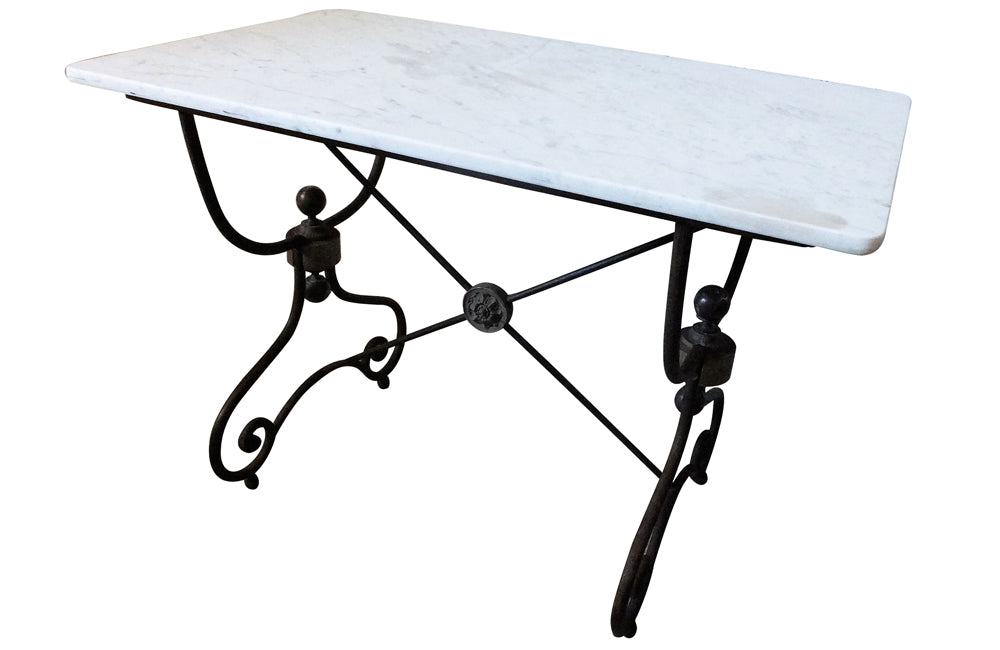 RARE FRENCH IRON TABLE