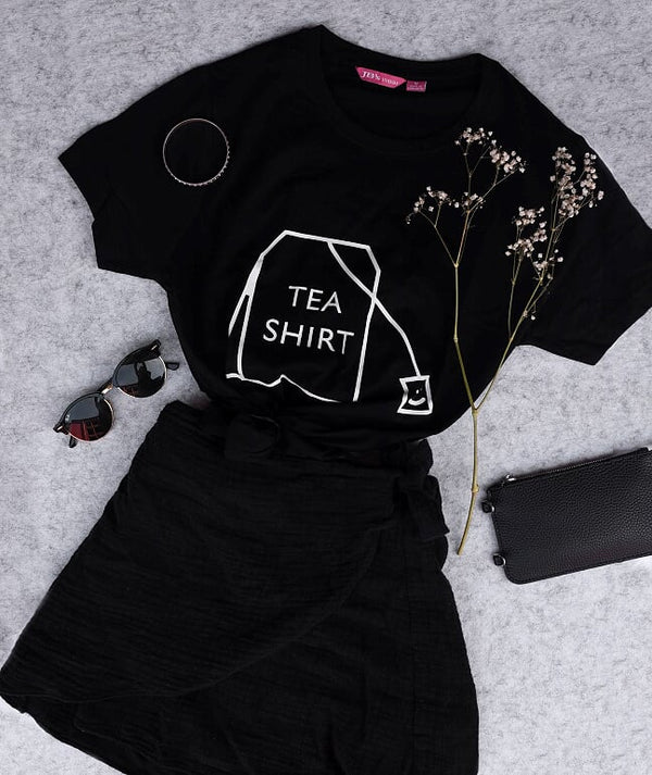 Tea Shirt - Black