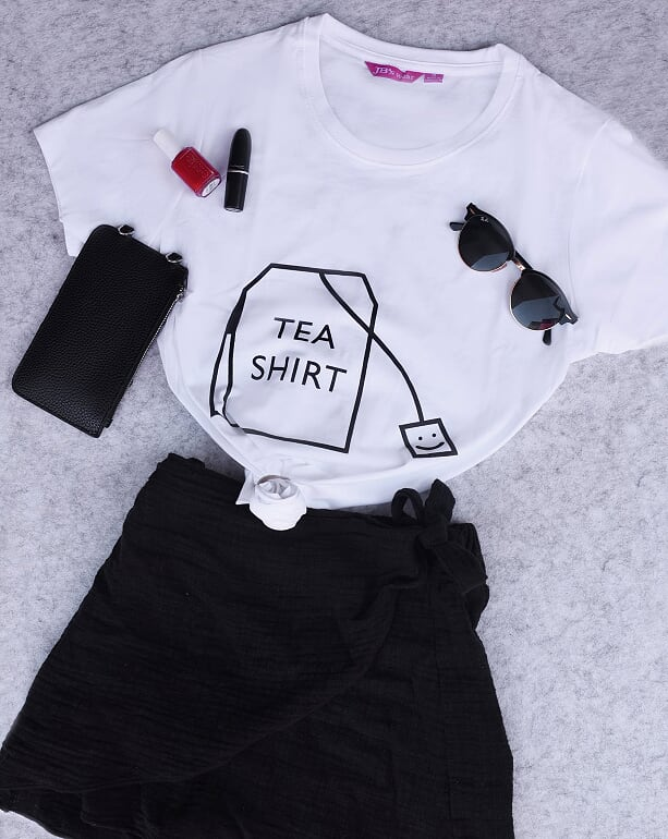 Tea Shirt - White