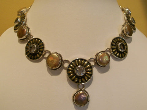 Sunflower & Coin Pearls