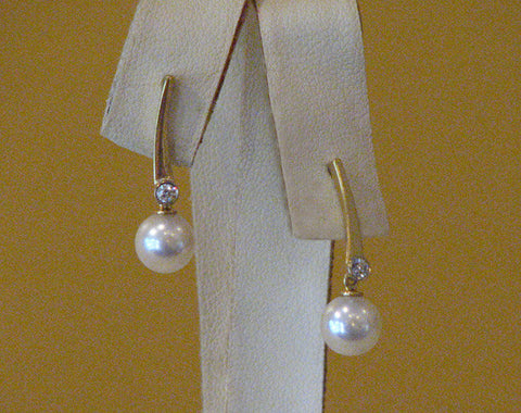 Pearls with Diamonds