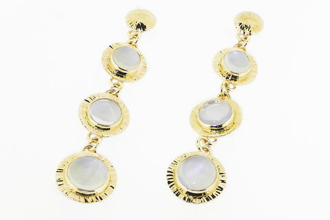 Ceylon Moonstone Earrings