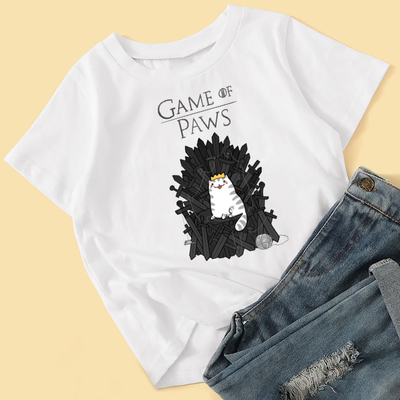 Game of Paws Cute Women's T-Shirt