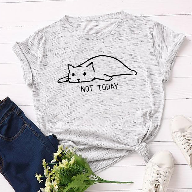 Not Today Lazy Cat Women's T-Shirt