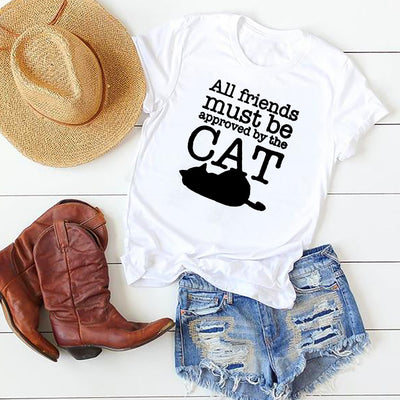Must Be Approved By The Cat Women's T-shirt