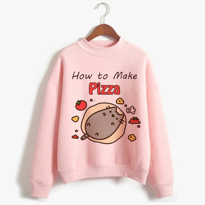 How To Make Pizza Pusheen Cat Sweater
