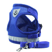 Adjustable Mesh Vest Harness For Small Pets