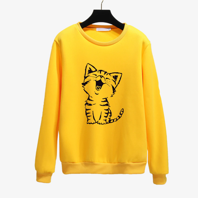 Happy Cat Women's Sweatshirt