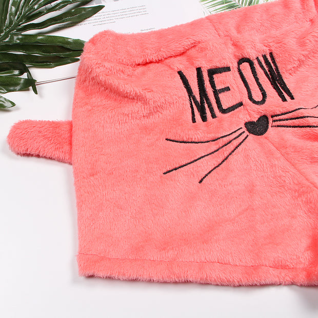 Soft & Cozy Cat Ear Pyjamas
