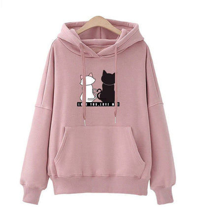 Romantic Cats Women's Hoodie
