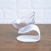 Ergonomic Raised Stand Cat Food Bowl