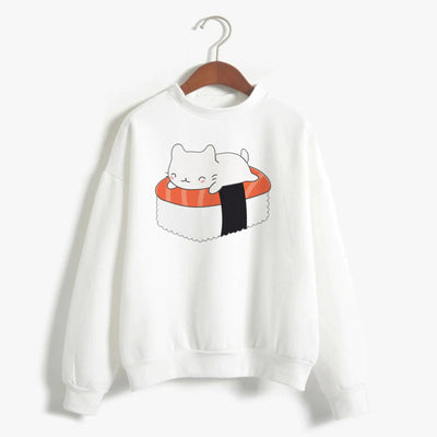 Sushi Cat Women's Sweatshirt
