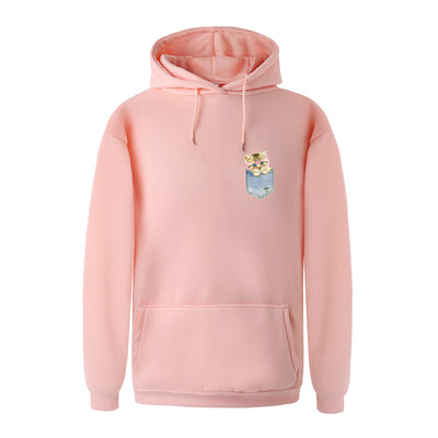 Sweet Pocket Cat Unisex Hoodie