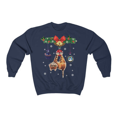 Cat Christmas Tree Unisex Sweatshirt