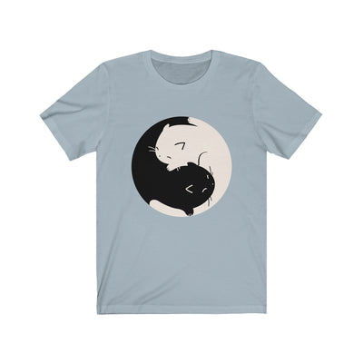 Yin Yang kitties Unisex Tee