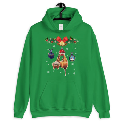 Cat Christmas Tree Unisex Hoodie