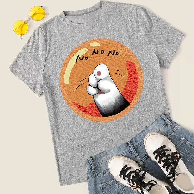 No No No Stubborn Cat Unisex T-Shirt