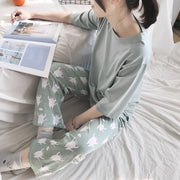 Cat in Pocket Cute Women's Pj Set