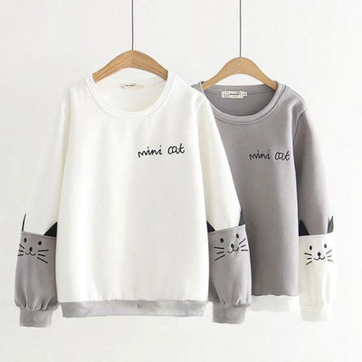 Mini Cat Women's Sweatshirt
