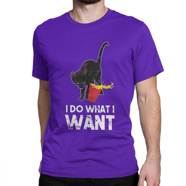 Plus Size I Do What I Want Men's T-Shirt