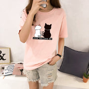 Romantic Cats Women's T-Shirt