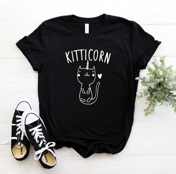 Cute Kitticorn Women's T-shirt