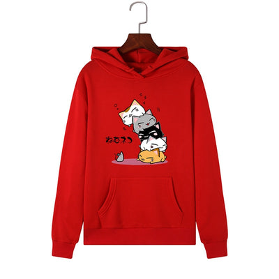 Cute Cartoon Cats Unisex Hoodie