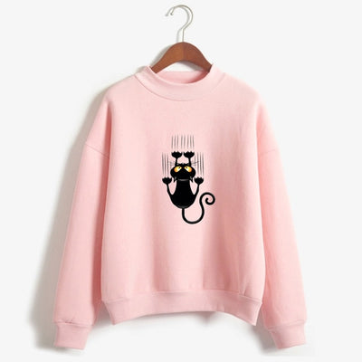 Sticky Cat Women's Sweatshirt