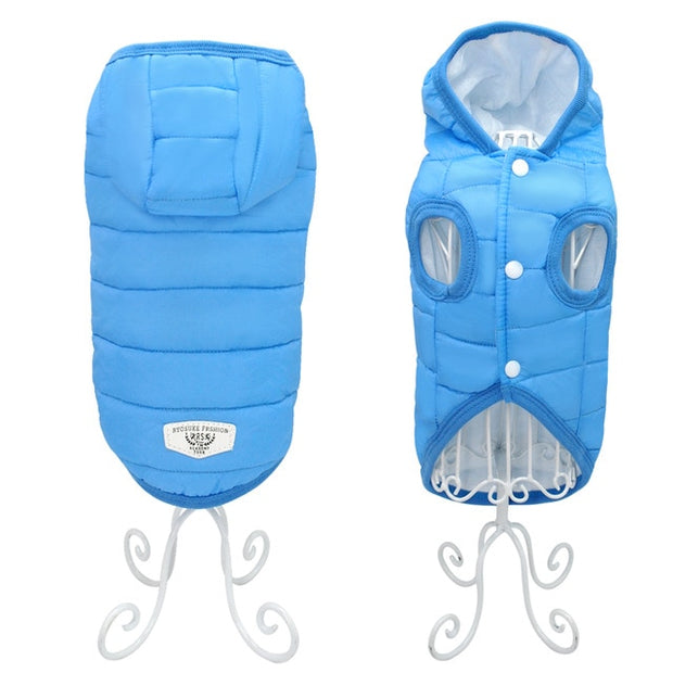 Warm Winter Pet Vest