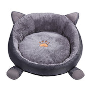 Super Soft Cat Shaped Pet Bed