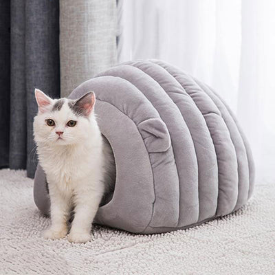 Igloo Shaped Warm Cat Bed