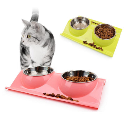 No Mess Cat Food Bowl