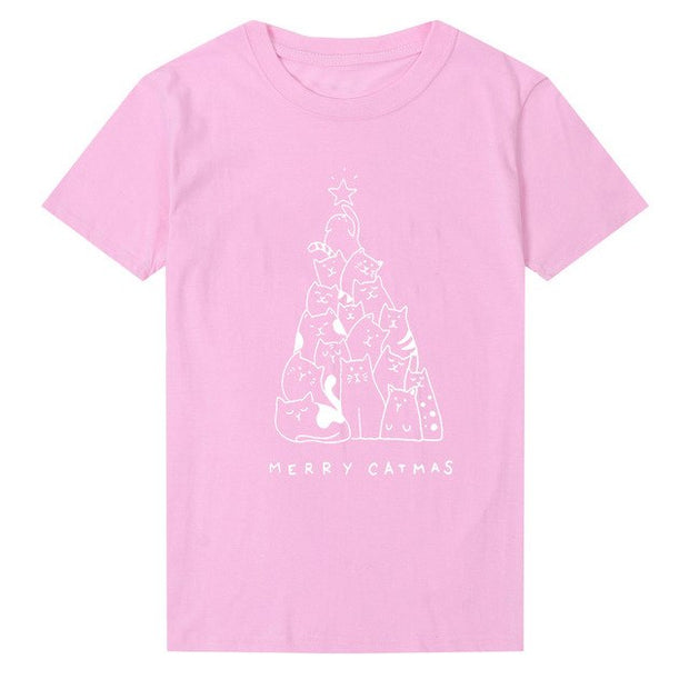 Merry Catmas Women's T-shirt