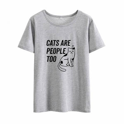 Cats Are People Too Women's T-shirt