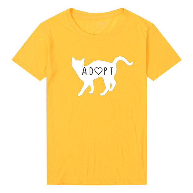 Adopt A Cat Women's T-Shirt