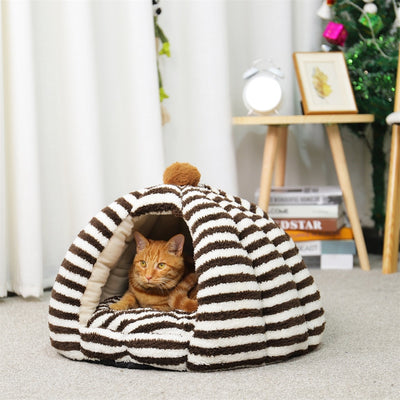 Super Warm Pet Cave For Winters