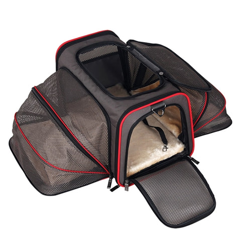 Expandable Soft Sided Pet Carrier